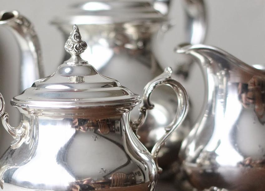 Como limpar e armazenar objetos de prata?