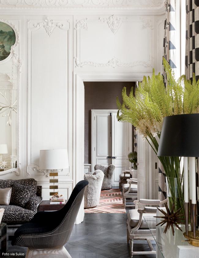 decoração e inspiração francesa