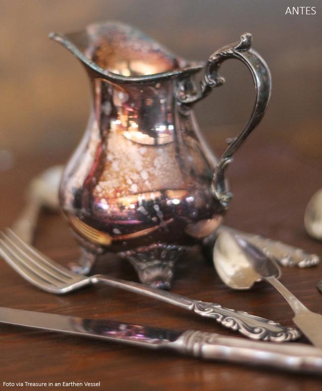 como limpar objetos de prata
