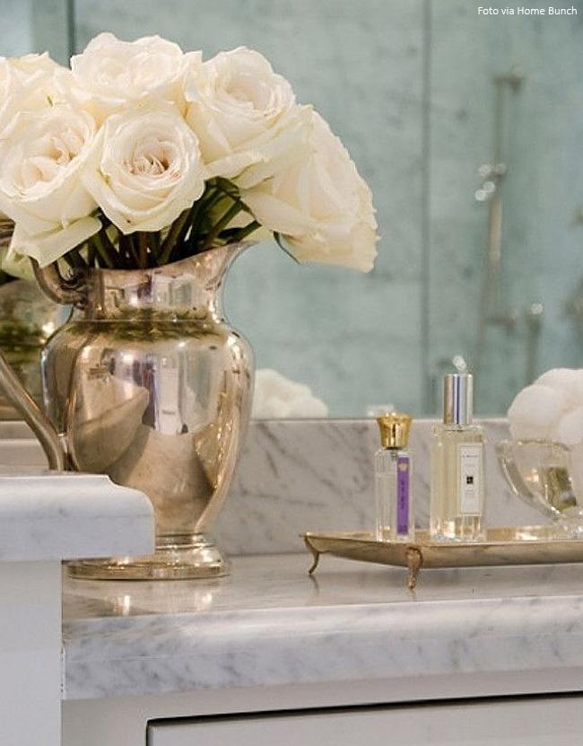 vaso de prata elegante