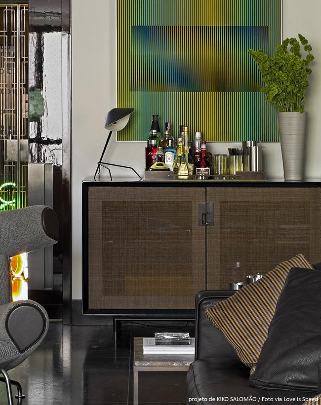 bar moderno em casa