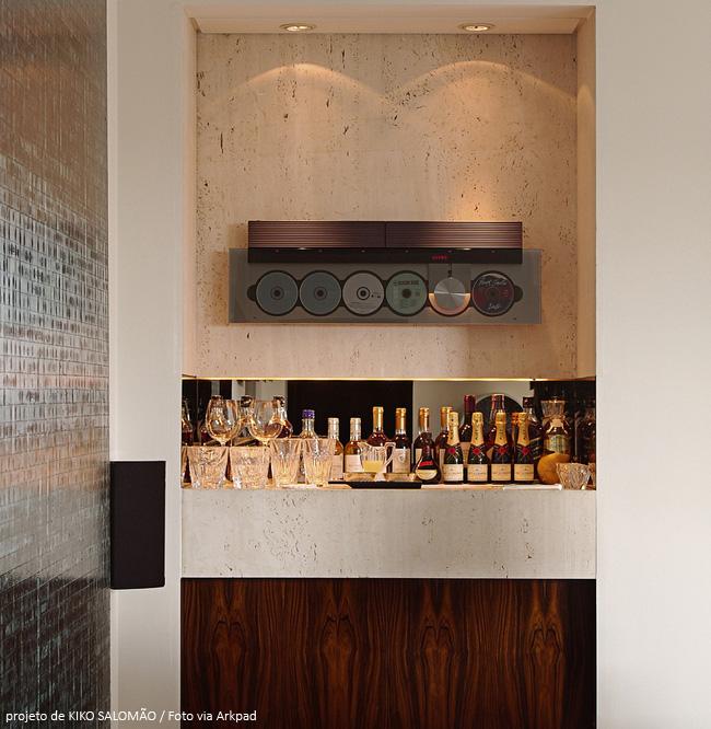 bar luxuoso em casa