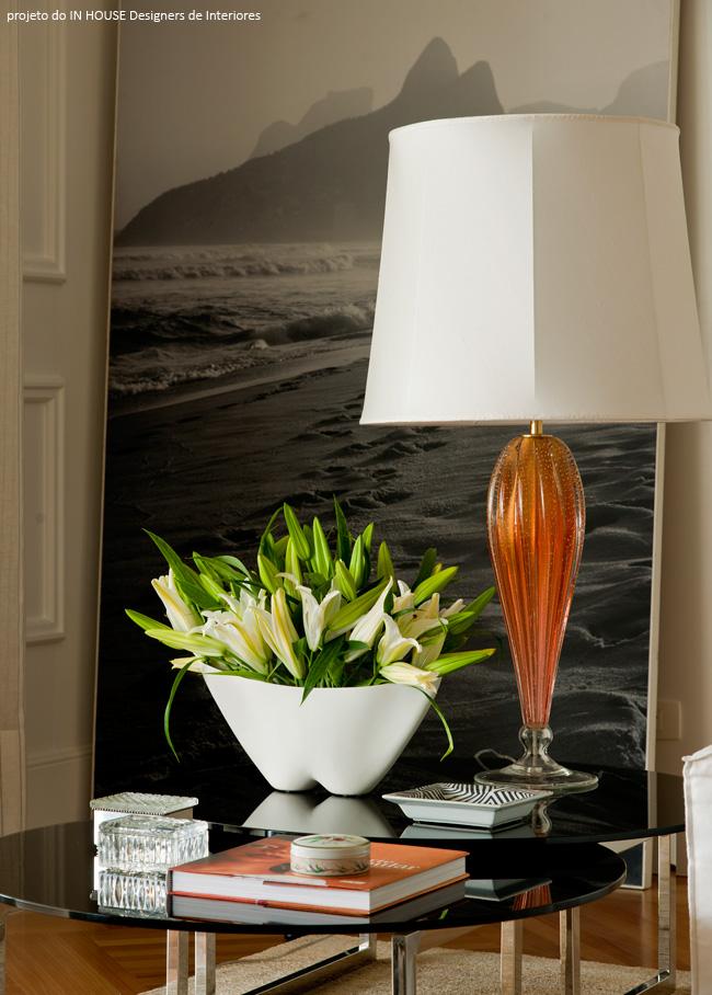vaso branco para decorar living
