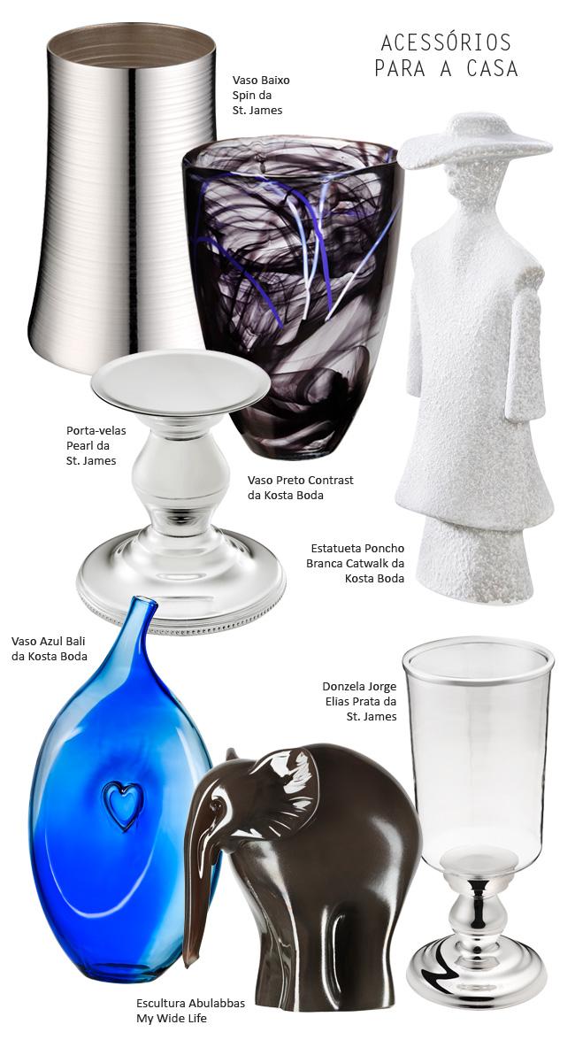 vasos estatuetas para decorar