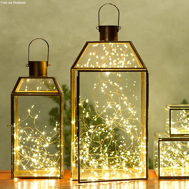 lanternas decorativas para o Natal