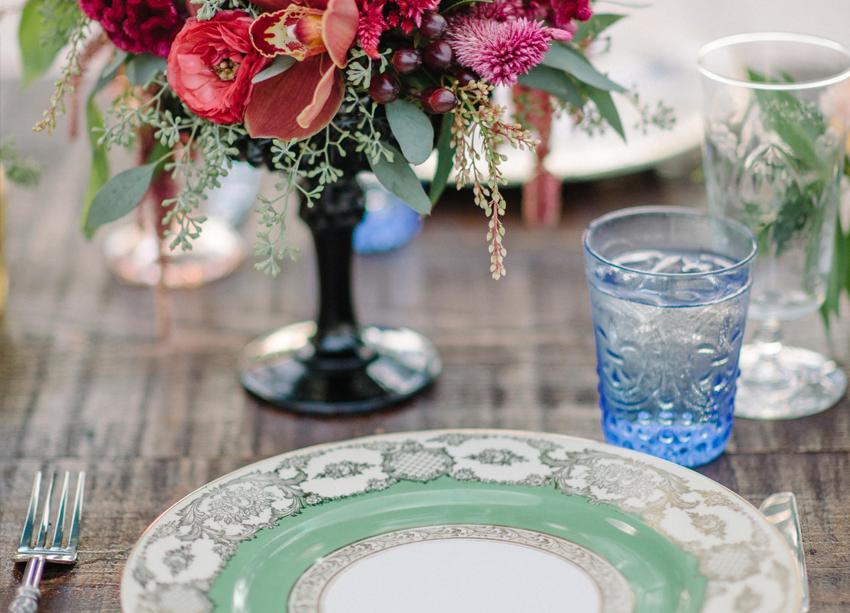 Manual para uma mesa colorida de verão