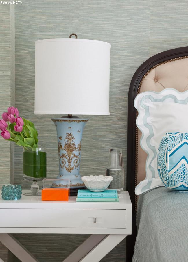 10 vaso de cristal para decorar criado mudo