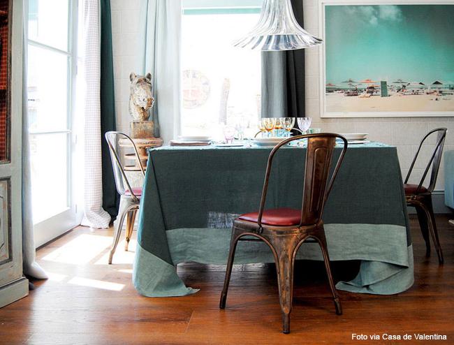 11 tolha de mesa verde
