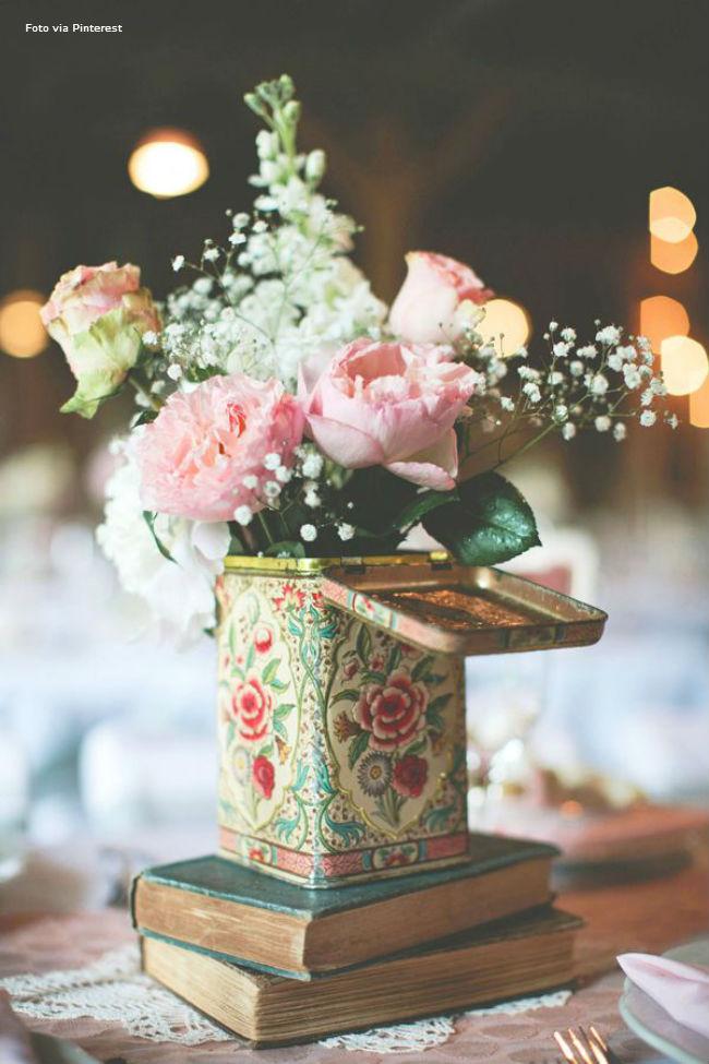 24 Latinha com flores
