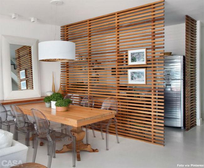8 sala de madeira